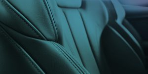 Car Leather Sear Interior With Surface Coating