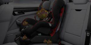 Car Seat Interior Before Germinator Treatment