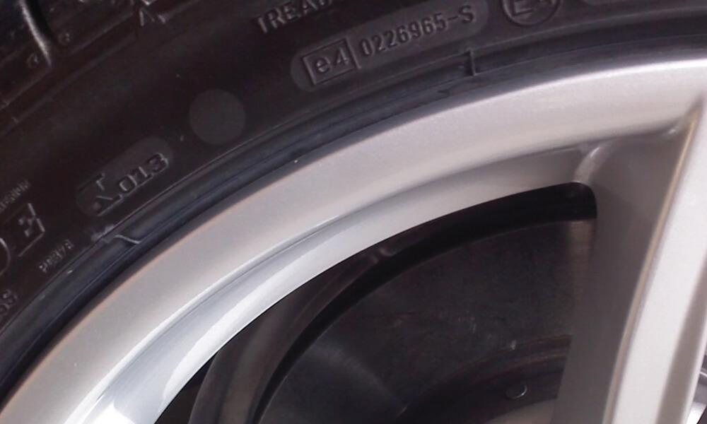 Car Rim Closeup After Treatment
