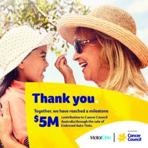 MotorOne Cancer Council Fundraiser