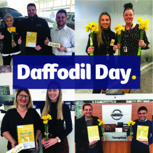 MotorOne Staff Celebrate Daffodil Day