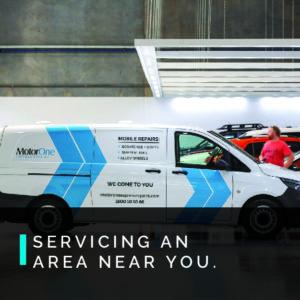 MotorOne Express Repairs Van