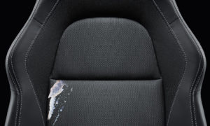 Car Seat With Stain Before Interior Protection Solutions